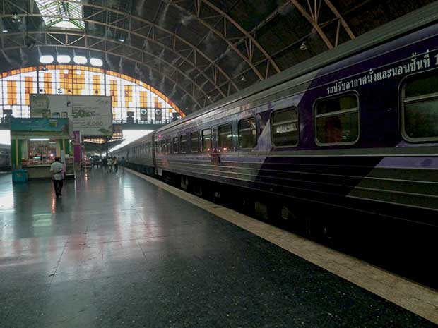 Nacht Zug von Bangkok nach Koh lipe