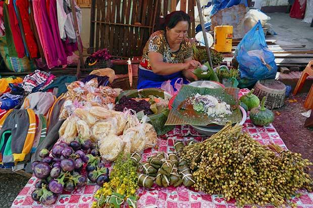 LuangPrabangMorgenmarkt