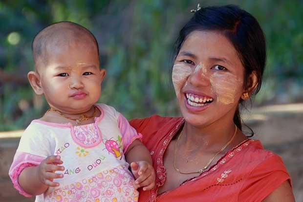 Myanmar – Menschen