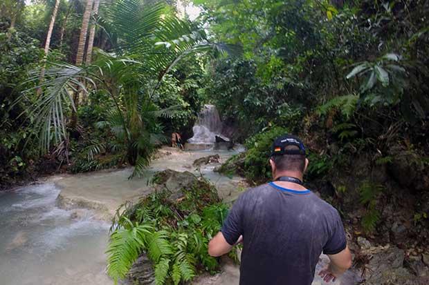 Aguinid Wasserfall Start