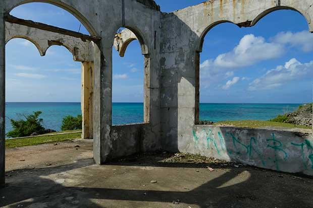 Bantayan Ausflug Ruine