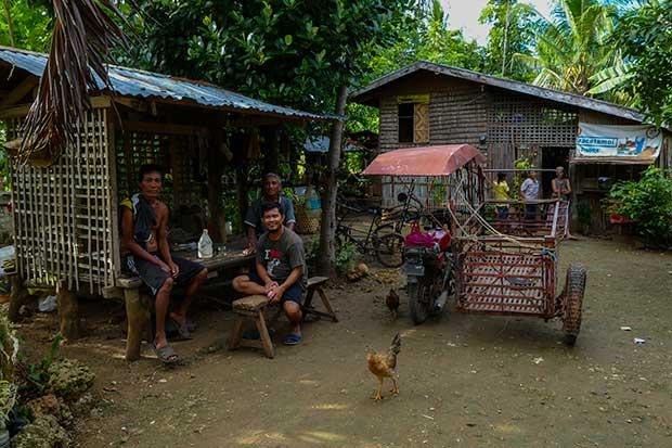 Bantayan Ausflug Dorfleben