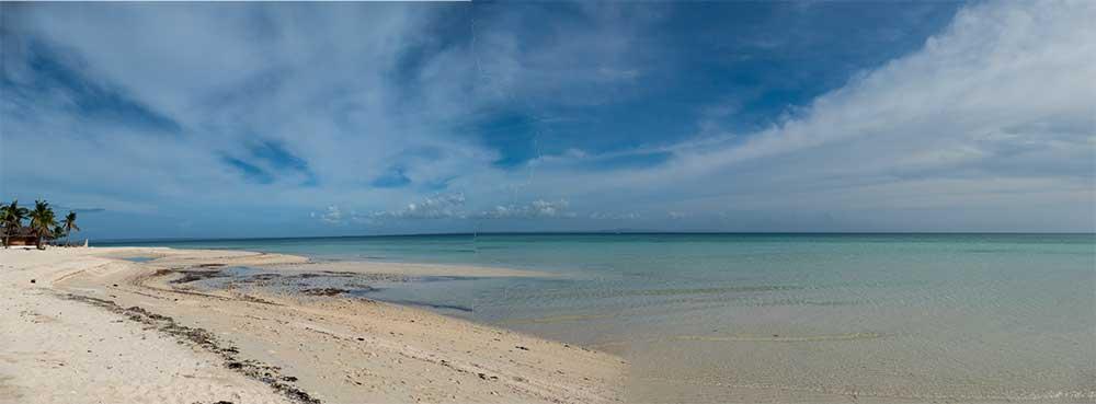 Bantayan Beach Panorama
