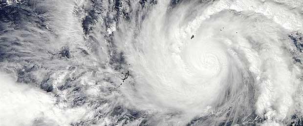 Taifun Hagupit / Ruby hat uns nur gestreift
