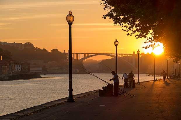 Porto_Sonnuntergang